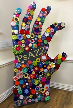Doesn't it look FAB! Hooray for the PsAZZ Yarnstorm Awareness Awareness Campaign
