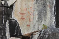 Missinaibi PP's pride the beautiful Fairy Point Pictographs.. Fairy Point is the home of over 100 Pictographs! come this summer and see them for yourself!