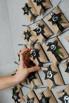 Advent Calendar Ideas - Toilet Paper Rolls