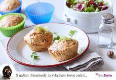 Slané muffiny si můžete dát jako lehkou večeři nebo dobrou svačinu. Vyzkoušejte naši verzi se sušenými rajčaty a anglickou slaninou.