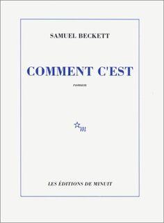 """""""s'ils me voient je suis un monstre de solitude, il voit l'homme pour la première fois et ne s'enfuit pas les explorateurs ramènent la peau dans leurs bagages"""". Samuel Beckett. Comment c'est. 1961."""