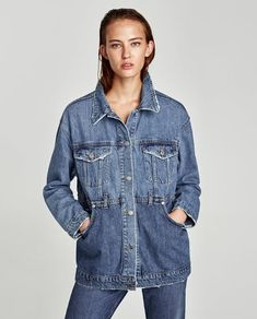 Image 2 of THE RECONSTRUCTED DENIM JACKET from Zara