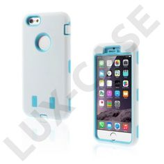Boberg (White / Blue) iPhone 6 Cover