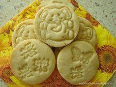 máslové sušenky Crinkles, Food And Drink, Cookies, Recipes, Blog, Basket, Crack Crackers, Biscuits, Recipies