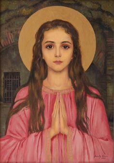 Saint Philomena by Feszty Masa on Curiator – http://crtr.co/2ihz