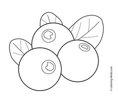Fruits Coloring Pages 3
