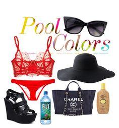 """""""pool colors"""" by janinus-belus-elpuberto on Polyvore"""