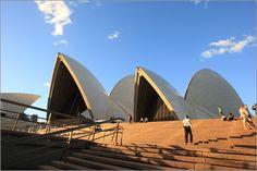 World famous Sydney Opera House - Sydney, New South Wales, Australia