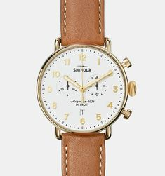 Shinola Canfield Chrono 43mm #men #watches #product #watch #accessory
