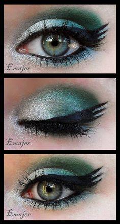Makeup For Green Eyes, Love Makeup, Simple Makeup, Makeup Inspo, Makeup Art, Makeup Inspiration, Beauty Makeup, Makeup Looks, Makeup Eyes
