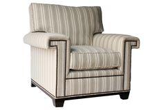 BARCLAY BUTERA  Paxton Club Chair