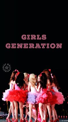 CREDIT TO THE OWNERS! I had just edited in the 'Girls Generation'.