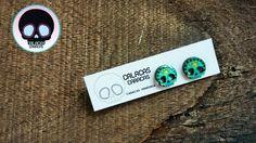 Estos #zarcillos de calacas verdes se ven mas lindos en nuestra nueva presentación  #CalacasCaracas