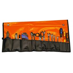Compact PVC tool roll with light background for better visibility by Rugged Xtremes