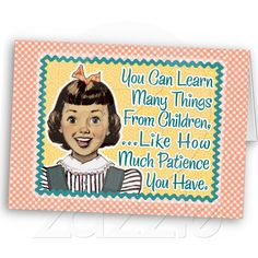 Lessons from Children...