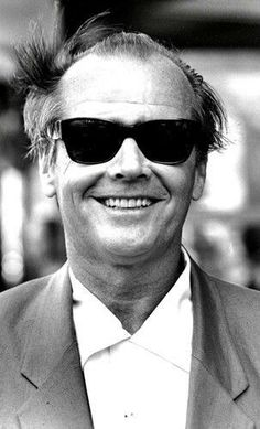There is no one cooler than Jack Jokers Wild, Glasses Brands, Classic Movie Stars, Jack Nicholson, American Actors, Harley Quinn, Comedians, Mens Sunglasses, Vintage Sunglasses