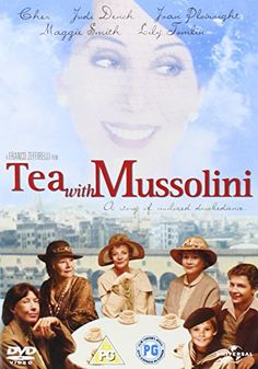 Tea With Mussolini (1999)]: Cher, Judi Dench, Joan Plowright, Maggie Smith, Lily Tomlin, Charlie Lucas, Baird Wallace, Massimo Ghini, Paolo Seganti, Michael Williams, Franco Zeffirelli - director