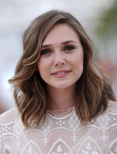 Medium Length Hairstyles Round Faces