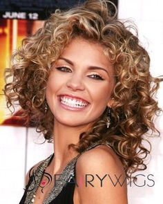 Layered haircuts work for all hair textures and face shapes. We collected dozens of medium layered haircuts to help you choose, read on! Mid Length Curly Hairstyles, Haircuts For Curly Hair, Curly Hair Cuts, Short Curly Hair, Curly Hair Styles, Cool Hairstyles, Curly Bob, Short Haircuts, Short Curls