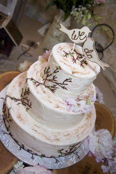 Rustic Wedding Cakes | Rustic Ranch Wedding At Marquardt Ranch - Rustic Wedding Chic