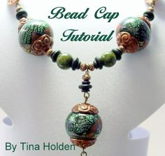 polymer clay beads | Tutorial - Bead Caps - Polymer Clay | beadcomber - How-To on ArtFire