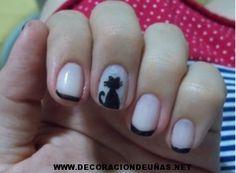 decoracion de uñas de gato