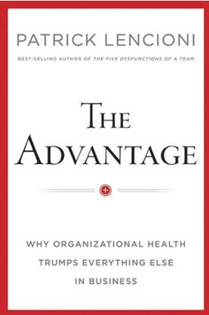 The Advantage by Patrick Lencioni  Great book on having an healthy team to work with that communicates well.