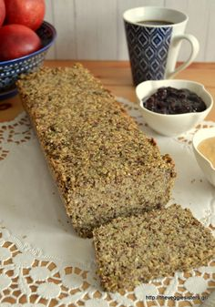 βρώμη Archives - The Veggie Sisters Buckwheat Bread, Vegetarian Recipes, Cooking Recipes, Diet Recipes, Recipies, Healthy Recipes, Brunch, Bread And Pastries, Healthy Sweets