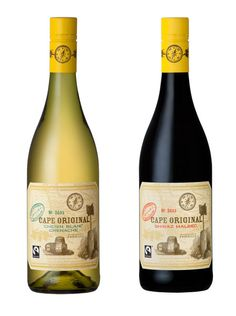 Fairtrade certified wine from South Africa's Western Cape.  http://www.originwine.co.za/home