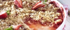 Mansikka-raparperimurupaistos | Jälkiruoat | Reseptit – K-ruoka