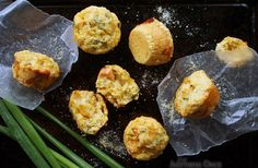Tomato, Cheese and Onion Corn Muffins - tryanythingonceculinary.com