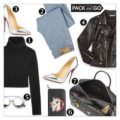 """""""Pack and Go: Milan"""" by danielle-487 ❤ liked on Polyvore featuring Karl Lagerfeld, Rebecca Minkoff, D&G, Michael Kors, Christian Louboutin and Packandgo"""
