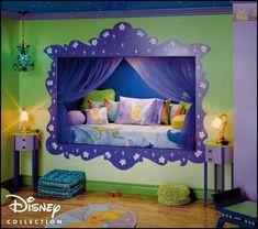 disney fairy tinkerbell bedroom design ideas