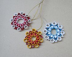quilled snowflake – Etsy IN