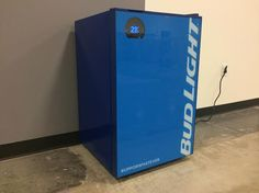 The Bud-E Fridge is an app-enabled mini-fridge that promises to keep your beer cold, and connected.