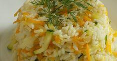 Ryż z cukinią i marchewką, ryż z cukinią, ryż z marchewką, ryż z warzywami, Risotto, Grains, Ethnic Recipes, Food, Diet, Polish Food Recipes, Essen, Meals, Seeds