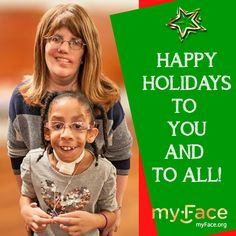 "A note from our talented and beloved Dina Zuckerberg: ""In the year that I have been at myFace as Director of Family Programs, I have met and been inspired by so many of our myFace kids like Anibel. Their resilience, courage and willingness to put themselves out there never cease to amaze me. They have taught me so much and I am honored to be a part of the myFace family! Happy holidays and a happy, healthy and peaceful New Year!"""