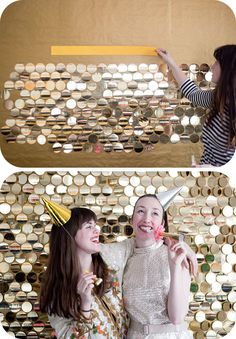 Sequin Photobooth DIY.......will do on a backdrop party...great idea...