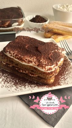Tiramisù super light Light Recipes, My Recipes, Sweet Recipes, Tiramisu, Light Desserts, Sweet Desserts, Cheesecake Desserts, Breakfast Cake, Healthy Dessert Recipes