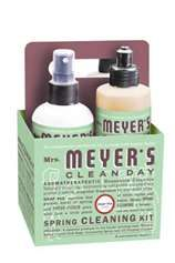 Mrs Meyers Cleaning & Bath Products....Organic, clean scents, and reasonably priced.