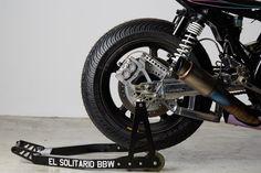 BIG BAD WOLF: EL SOLITARIO'S YARD BUILT XJR1300