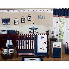Vintage Airplane Nursery. We'd love to do a theme like this if we're ever blessed with a baby boy.
