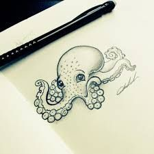 Image result for cute octopus drawing