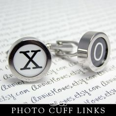 DIY Cuff Links. Wedding Party Father of the Bride. Add Your Own Image. Annie Howes.