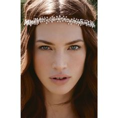 Tasha 'Beautiful Crystal' Head Wrap (£53) ❤ liked on Polyvore featuring accessories, hair accessories, hair, people, models, backgrounds, pictures, ribbon headband, crystal ribbon headband and head wrap hair accessories