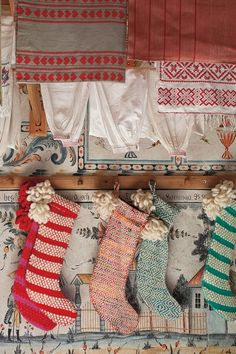 ruralgirl:    (via Kerst ★ Christmas / #LoomedandLoopedStocking #Anthropologie ♥)