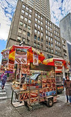 Food Cart . New York City