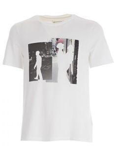 Hot Sale Sale Online Sale New Arrival graphic print T-shirt - Grey Maison Martin Margiela Discount Get Authentic oK11E6p7R
