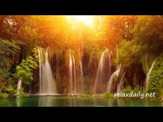 Cascading Waterfalls With Slow Background Music – A Simple Image Relaxation Video By relaxdaily - http://www.imagerelaxationvideos.com/cascading-waterfalls-slow-background-music-simple-image-relaxation-video-relaxdaily/