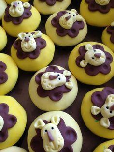Little Lion Cupcakes